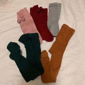 Condor tights & knee high socks